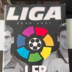 Coleccionismo deportivo: ÁLBUM CROMOS FÚTBOL LIGA LFP PANINI 2000 2001 NO LIGA ESTE. Lote 163549794