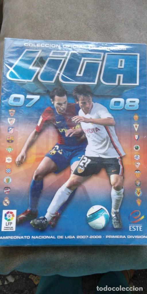 ALBUM DE CROMOS NUEVO, ESTE LIGA 2007-2008 (Coleccionismo Deportivo - Álbumes y Cromos de Deportes - Álbumes de Fútbol Incompletos)