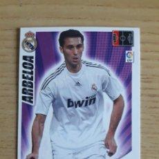 Coleccionismo deportivo: FÚTBOL ARBELOA REAL MADRID ADRENALYN XL 2009 2010 PANINI. Lote 194394360
