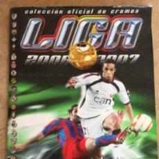 Coleccionismo deportivo: ALBUM DE CROMOS LIGA 2006 2007 . Lote 164692330