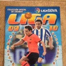 Coleccionismo deportivo: ALBUM DE CROMOS LIGA 2009 2010. Lote 164693314