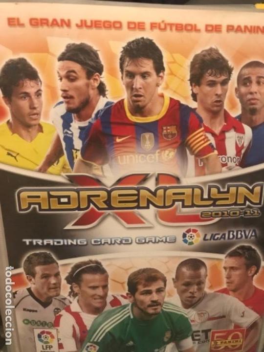 ALBUM FUTBOL ADRENALYN 2010-2011 PANINI (Coleccionismo Deportivo - Álbumes y Cromos de Deportes - Álbumes de Fútbol Incompletos)