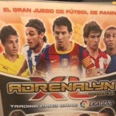 Coleccionismo deportivo: ALBUM FUTBOL ADRENALYN 2010-2011 PANINI . Lote 164974726