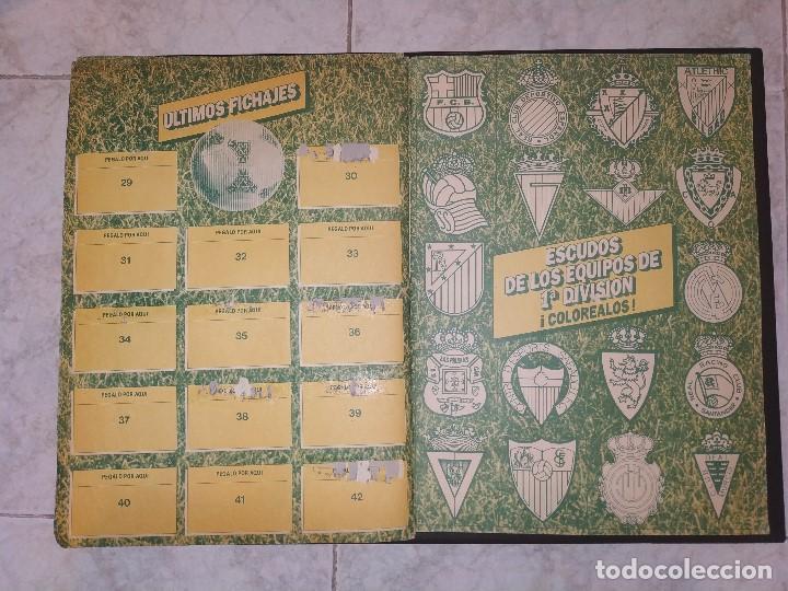 Coleccionismo deportivo: Album Liga Este 1986 1987 - 86-87 Contiene 250 cromos aprox. - Foto 2 - 165132202