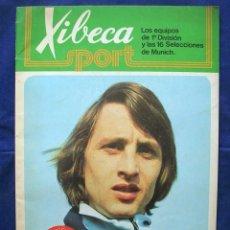 Coleccionismo deportivo: ÁLBUM CROMOS FÚTBOL CRUYFF XIBECA SPORT DAMM.. Lote 165213994