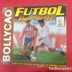 Coleccionismo deportivo: ALBUM DE CROMOS INCOMPLETO. FUTBOL LIGA 96-97. BOLLYCAO. FALTAN 14 CROMOS. Lote 165556246