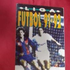 Coleccionismo deportivo: ALBUM DE CROMOS INCOMPLETO. LIGA FUTBOL 91 - 92. BIMBO. FALTAN 78 CROMOS. Lote 165557234