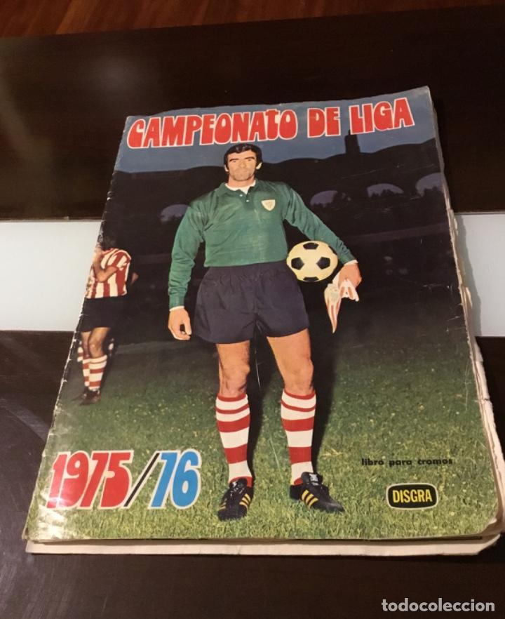 ÁLBUM FÚTBOL CAMPEONATO DE LIGA 1975 (Coleccionismo Deportivo - Álbumes y Cromos de Deportes - Álbumes de Fútbol Incompletos)
