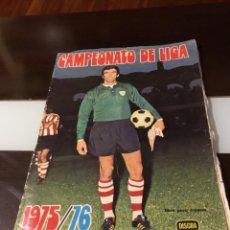 Coleccionismo deportivo: ÁLBUM FÚTBOL CAMPEONATO DE LIGA 1975. Lote 165563010
