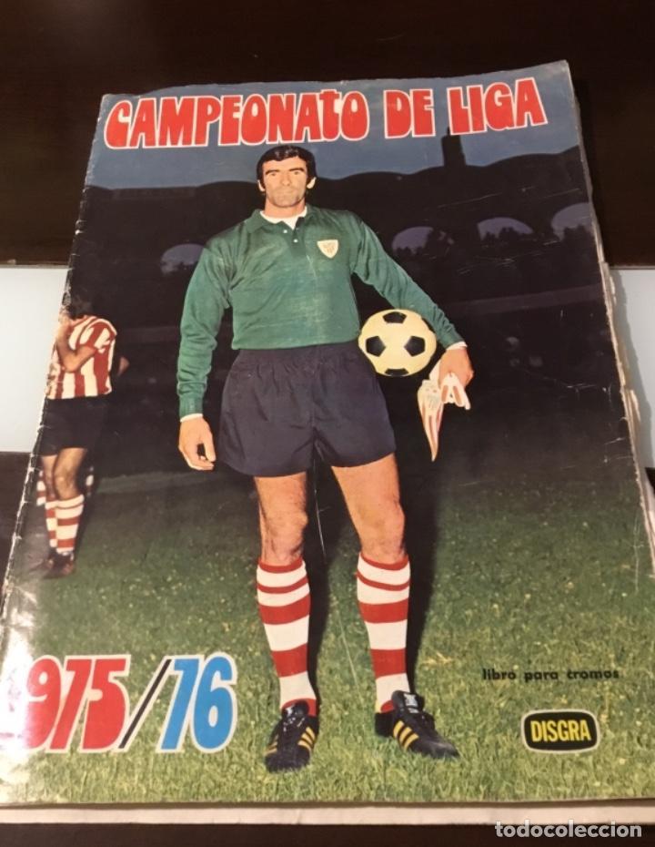 Coleccionismo deportivo: Álbum fútbol campeonato de liga 1975 - Foto 2 - 165563010