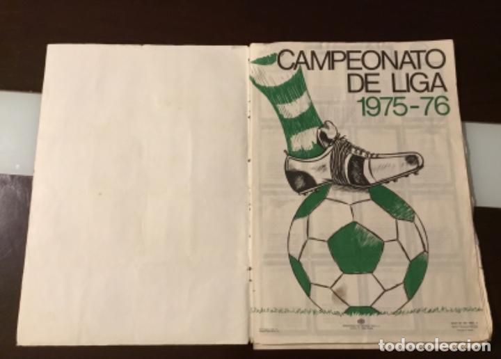 Coleccionismo deportivo: Álbum fútbol campeonato de liga 1975 - Foto 3 - 165563010