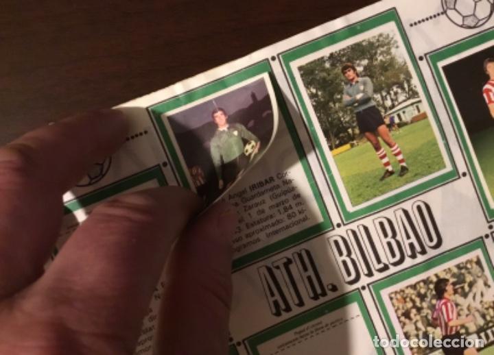 Coleccionismo deportivo: Álbum fútbol campeonato de liga 1975 - Foto 5 - 165563010