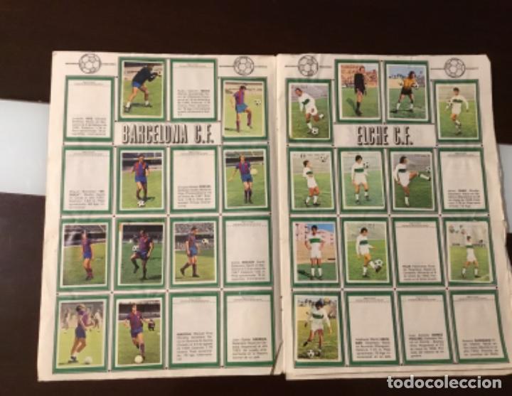 Coleccionismo deportivo: Álbum fútbol campeonato de liga 1975 - Foto 6 - 165563010