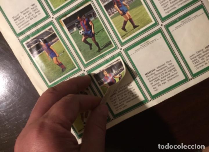 Coleccionismo deportivo: Álbum fútbol campeonato de liga 1975 - Foto 7 - 165563010
