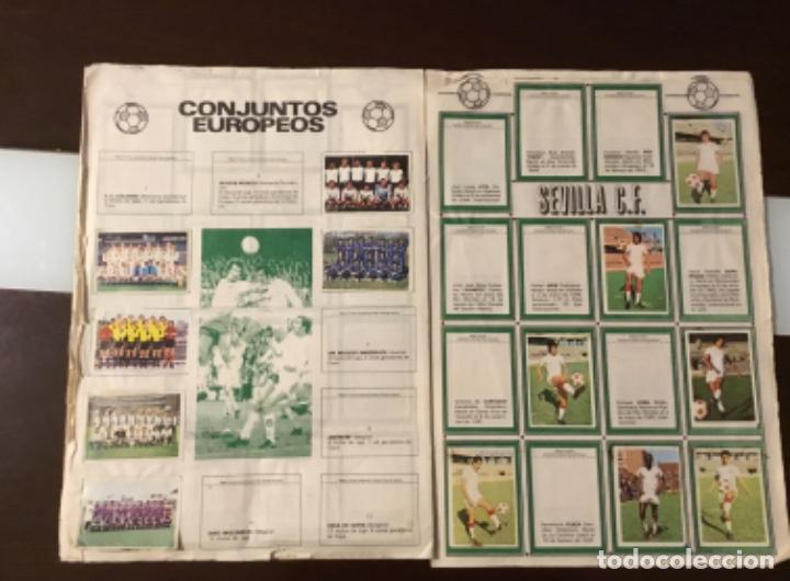 Coleccionismo deportivo: Álbum fútbol campeonato de liga 1975 - Foto 12 - 165563010