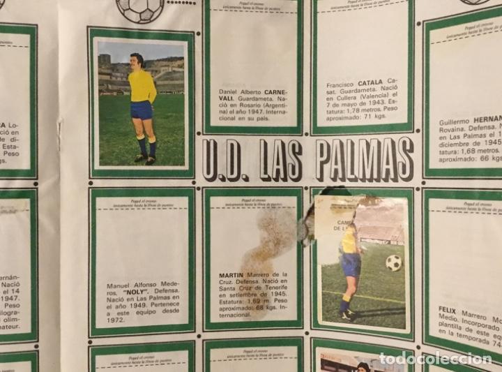 Coleccionismo deportivo: Álbum fútbol campeonato de liga 1975 - Foto 15 - 165563010