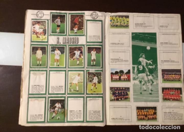 Coleccionismo deportivo: Álbum fútbol campeonato de liga 1975 - Foto 18 - 165563010