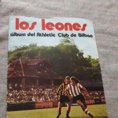 Coleccionismo deportivo: LOS LEONES. ATHLETIC DE BILBAO. GACETA DEL NORTE-SUCHARD. 1973,. Lote 165668450