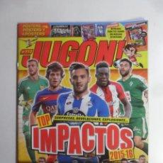 Coleccionismo deportivo: REVISTA JUGON Nº 112. Lote 165828194
