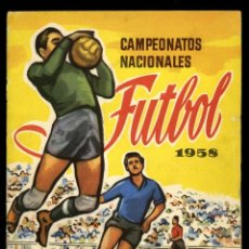 Coleccionismo deportivo: CAMPEONATOS NACIONALES FÚTBOL 1958. RUIZ ROMERO. Lote 165828370