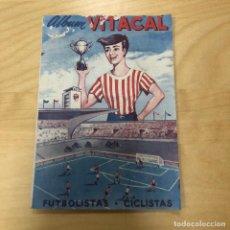 Coleccionismo deportivo: ANTIGUO ALBUM DE CROMOS VITACAL FUTBOLISTAS - CICLISTAS, SUPERCHOCOLATINA. 1960-1961.. Lote 166175782