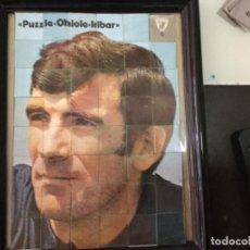 Coleccionismo deportivo: PUZZLE CROMOS CHICLES IRIBAR - LOS CROMOS SIN PEGAR- ES ORIGINAL 100%. Lote 177886494