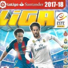 Coleccionismo deportivo: ALBUM DE LA LIGA 2017/2018 CON 109 CROMOS. Lote 166546866