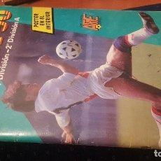 Coleccionismo deportivo: FUTBOL 90, PANINI, INCOMPLETO, CON 108 CROMOS. Lote 166726210