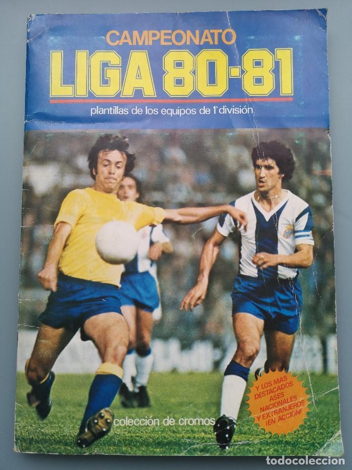 ALBUM EDIC ESTE LIGA 80 81 1980 1981 MUY COMPLETO INCLUYE 21 FICHAJES Y QUINI PINTADO MUY BUENA CONS (Coleccionismo Deportivo - Álbumes y Cromos de Deportes - Álbumes de Fútbol Incompletos)