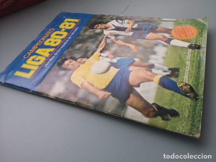 Coleccionismo deportivo: ALBUM EDIC ESTE LIGA 80 81 1980 1981 MUY COMPLETO INCLUYE 21 FICHAJES Y QUINI PINTADO MUY BUENA CONS - Foto 2 - 166776594