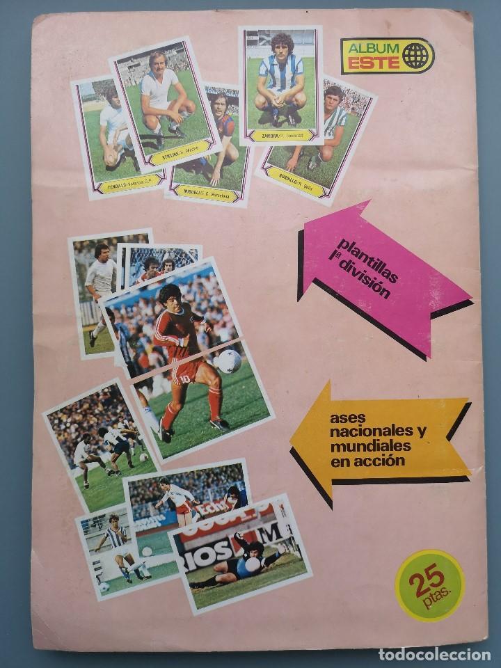 Coleccionismo deportivo: ALBUM EDIC ESTE LIGA 80 81 1980 1981 MUY COMPLETO INCLUYE 21 FICHAJES Y QUINI PINTADO MUY BUENA CONS - Foto 3 - 166776594