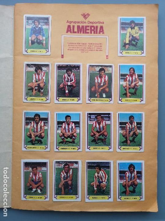 Coleccionismo deportivo: ALBUM EDIC ESTE LIGA 80 81 1980 1981 MUY COMPLETO INCLUYE 21 FICHAJES Y QUINI PINTADO MUY BUENA CONS - Foto 4 - 166776594