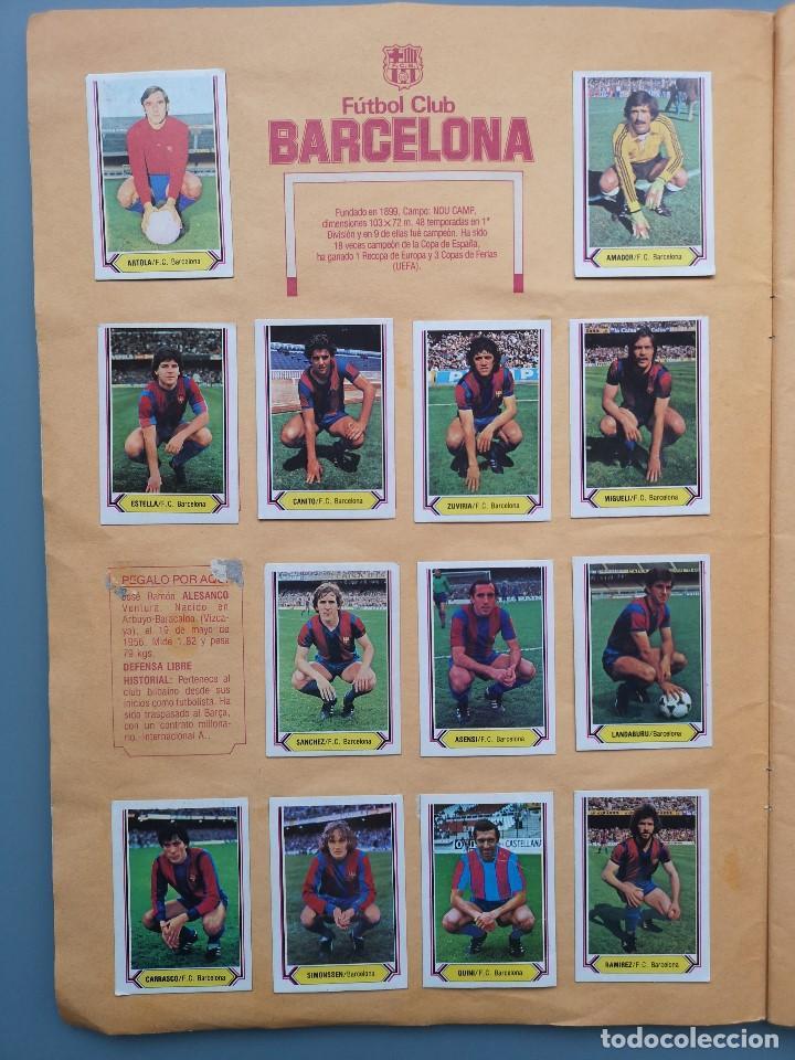 Coleccionismo deportivo: ALBUM EDIC ESTE LIGA 80 81 1980 1981 MUY COMPLETO INCLUYE 21 FICHAJES Y QUINI PINTADO MUY BUENA CONS - Foto 5 - 166776594