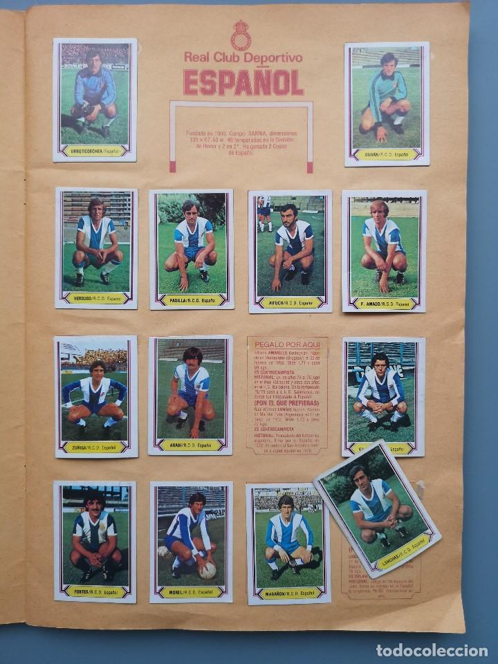 Coleccionismo deportivo: ALBUM EDIC ESTE LIGA 80 81 1980 1981 MUY COMPLETO INCLUYE 21 FICHAJES Y QUINI PINTADO MUY BUENA CONS - Foto 8 - 166776594