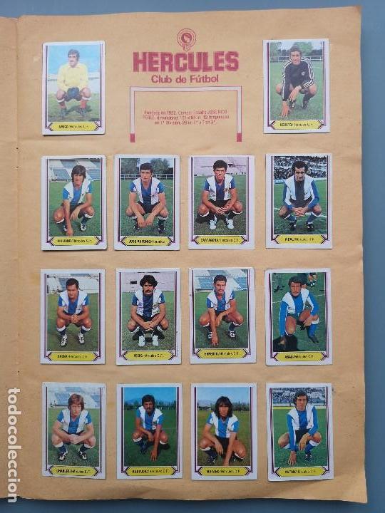 Coleccionismo deportivo: ALBUM EDIC ESTE LIGA 80 81 1980 1981 MUY COMPLETO INCLUYE 21 FICHAJES Y QUINI PINTADO MUY BUENA CONS - Foto 10 - 166776594