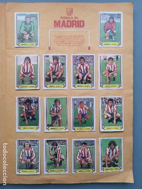 Coleccionismo deportivo: ALBUM EDIC ESTE LIGA 80 81 1980 1981 MUY COMPLETO INCLUYE 21 FICHAJES Y QUINI PINTADO MUY BUENA CONS - Foto 12 - 166776594