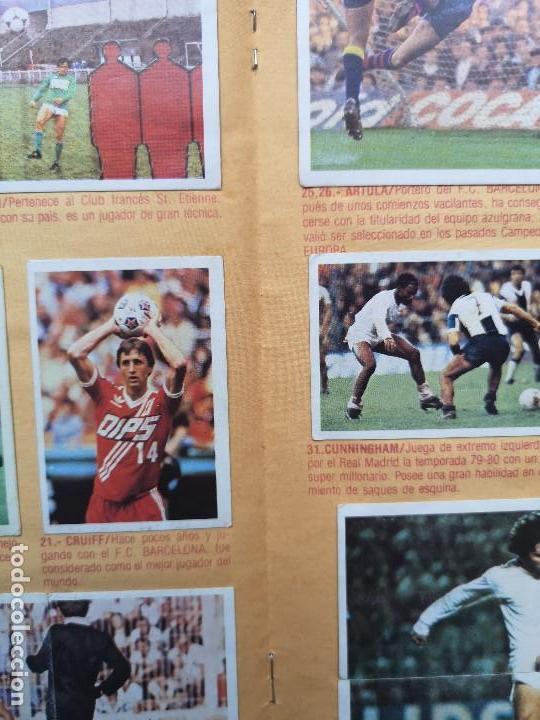 Coleccionismo deportivo: ALBUM EDIC ESTE LIGA 80 81 1980 1981 MUY COMPLETO INCLUYE 21 FICHAJES Y QUINI PINTADO MUY BUENA CONS - Foto 17 - 166776594
