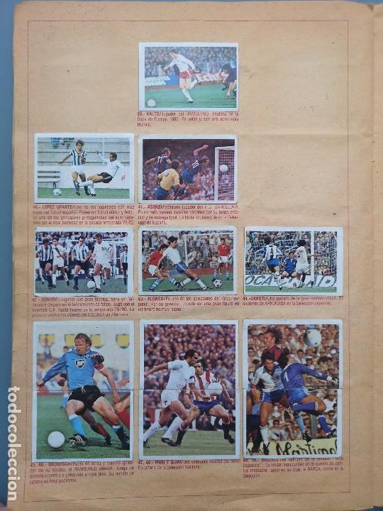 Coleccionismo deportivo: ALBUM EDIC ESTE LIGA 80 81 1980 1981 MUY COMPLETO INCLUYE 21 FICHAJES Y QUINI PINTADO MUY BUENA CONS - Foto 18 - 166776594
