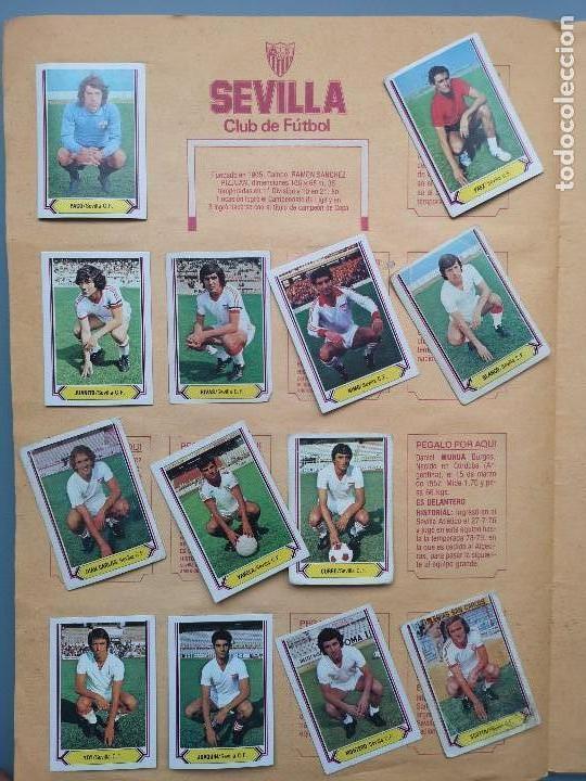 Coleccionismo deportivo: ALBUM EDIC ESTE LIGA 80 81 1980 1981 MUY COMPLETO INCLUYE 21 FICHAJES Y QUINI PINTADO MUY BUENA CONS - Foto 22 - 166776594