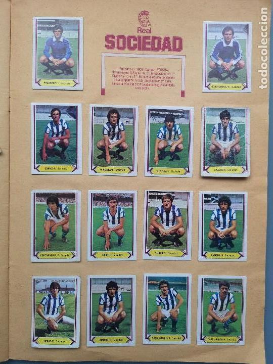 Coleccionismo deportivo: ALBUM EDIC ESTE LIGA 80 81 1980 1981 MUY COMPLETO INCLUYE 21 FICHAJES Y QUINI PINTADO MUY BUENA CONS - Foto 23 - 166776594
