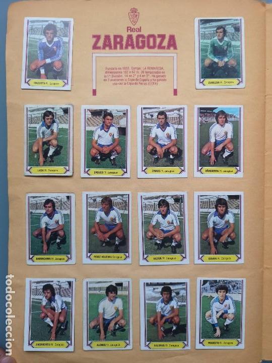 Coleccionismo deportivo: ALBUM EDIC ESTE LIGA 80 81 1980 1981 MUY COMPLETO INCLUYE 21 FICHAJES Y QUINI PINTADO MUY BUENA CONS - Foto 26 - 166776594