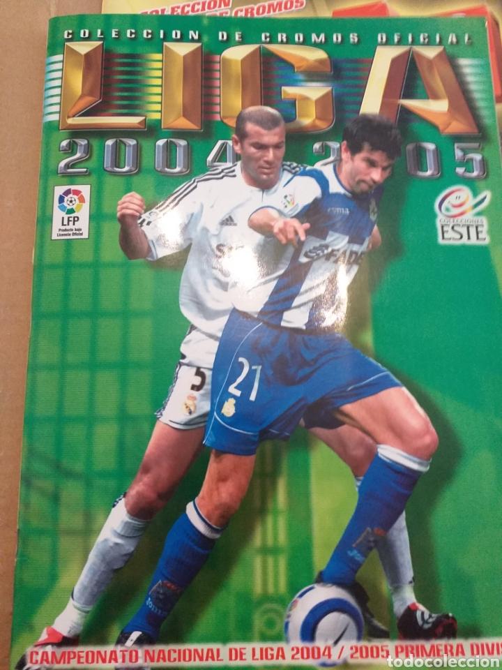 ALBUM LIGA ESTE 2004.2005 (Coleccionismo Deportivo - Álbumes y Cromos de Deportes - Álbumes de Fútbol Incompletos)