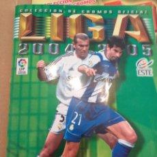 Coleccionismo deportivo: ALBUM LIGA ESTE 2004.2005. Lote 167146837
