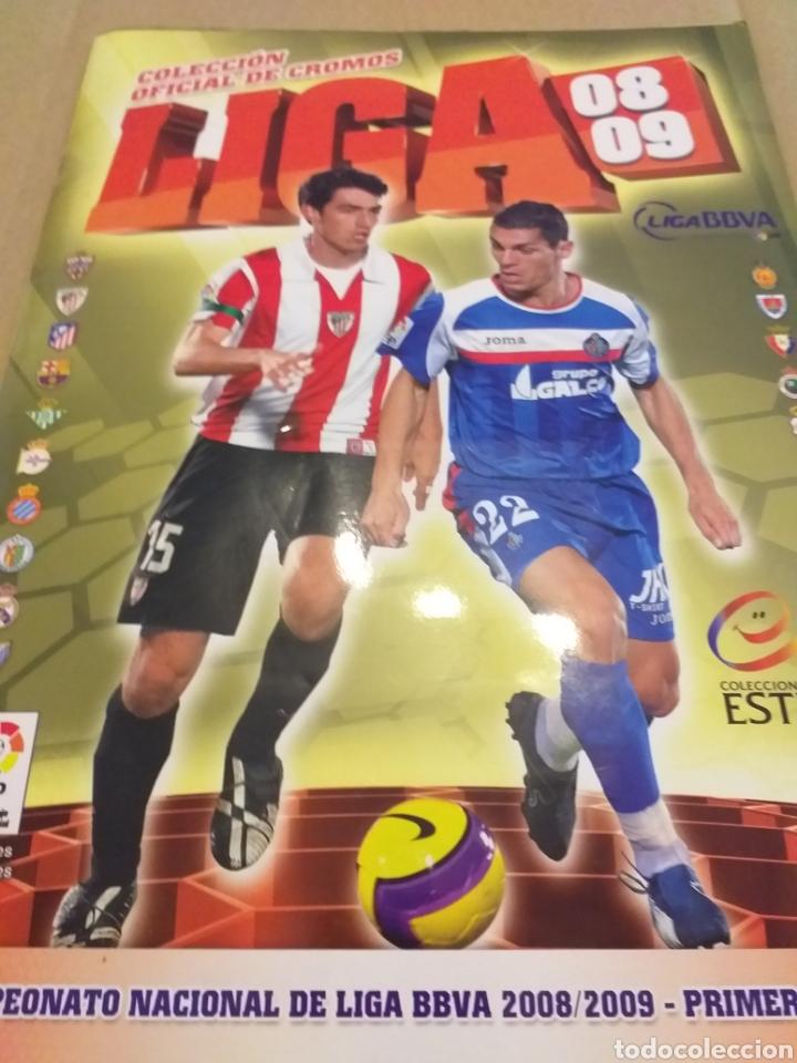 LIGA ESTE 2008.2009 (Coleccionismo Deportivo - Álbumes y Cromos de Deportes - Álbumes de Fútbol Incompletos)