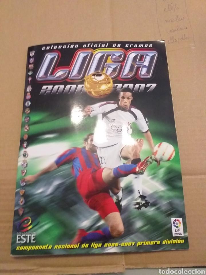 LIGA ESTE 2006.2007 (Coleccionismo Deportivo - Álbumes y Cromos de Deportes - Álbumes de Fútbol Incompletos)