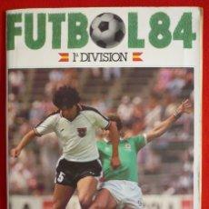 Coleccionismo deportivo: ALBUM CROMOS CANO 1983-1984. CROMOS CANO 83-84 INCOMPLETO.. Lote 167185462