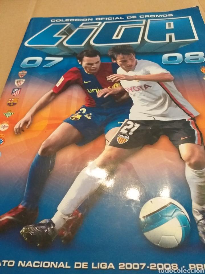 ALBUM LIGA ESTE 2007.2008 (Coleccionismo Deportivo - Álbumes y Cromos de Deportes - Álbumes de Fútbol Incompletos)