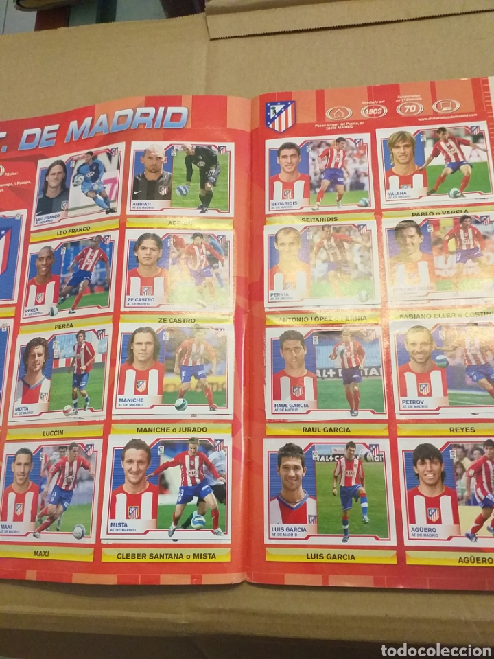 Coleccionismo deportivo: Album liga este 2007.2008 - Foto 4 - 167397173