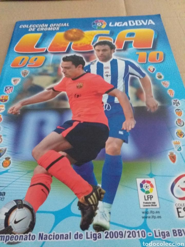 ALBUM LIGA ESTE 2009.2010 (Coleccionismo Deportivo - Álbumes y Cromos de Deportes - Álbumes de Fútbol Incompletos)