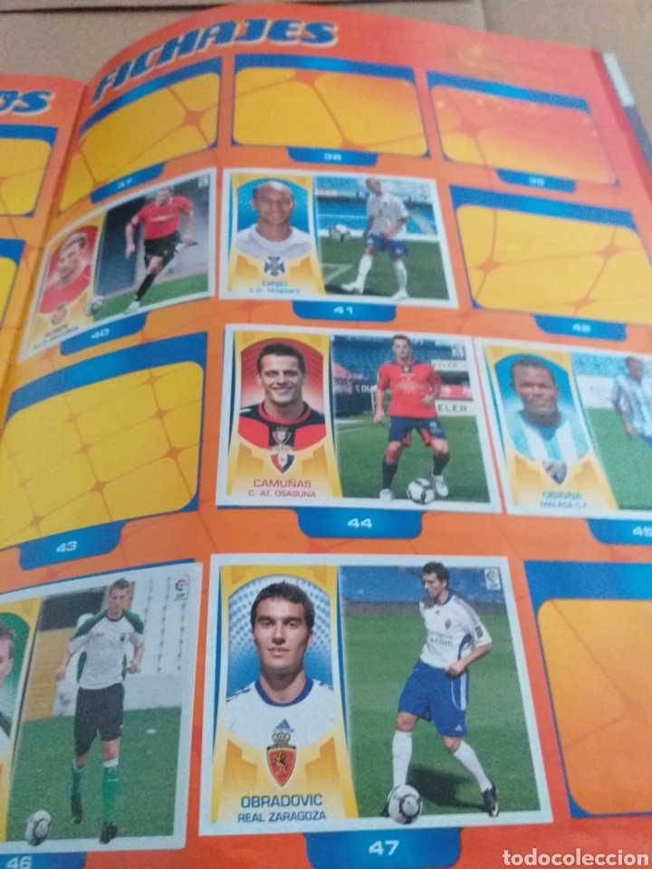 Coleccionismo deportivo: Album liga este 2009.2010 - Foto 3 - 167407744